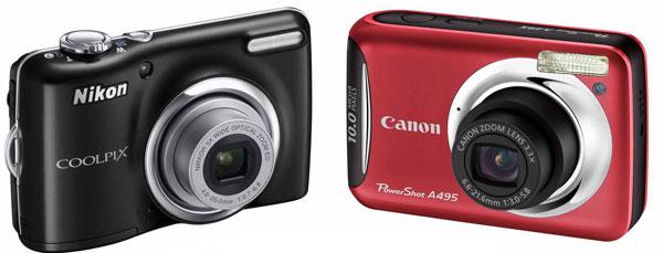 Esempio fotocamere compatte